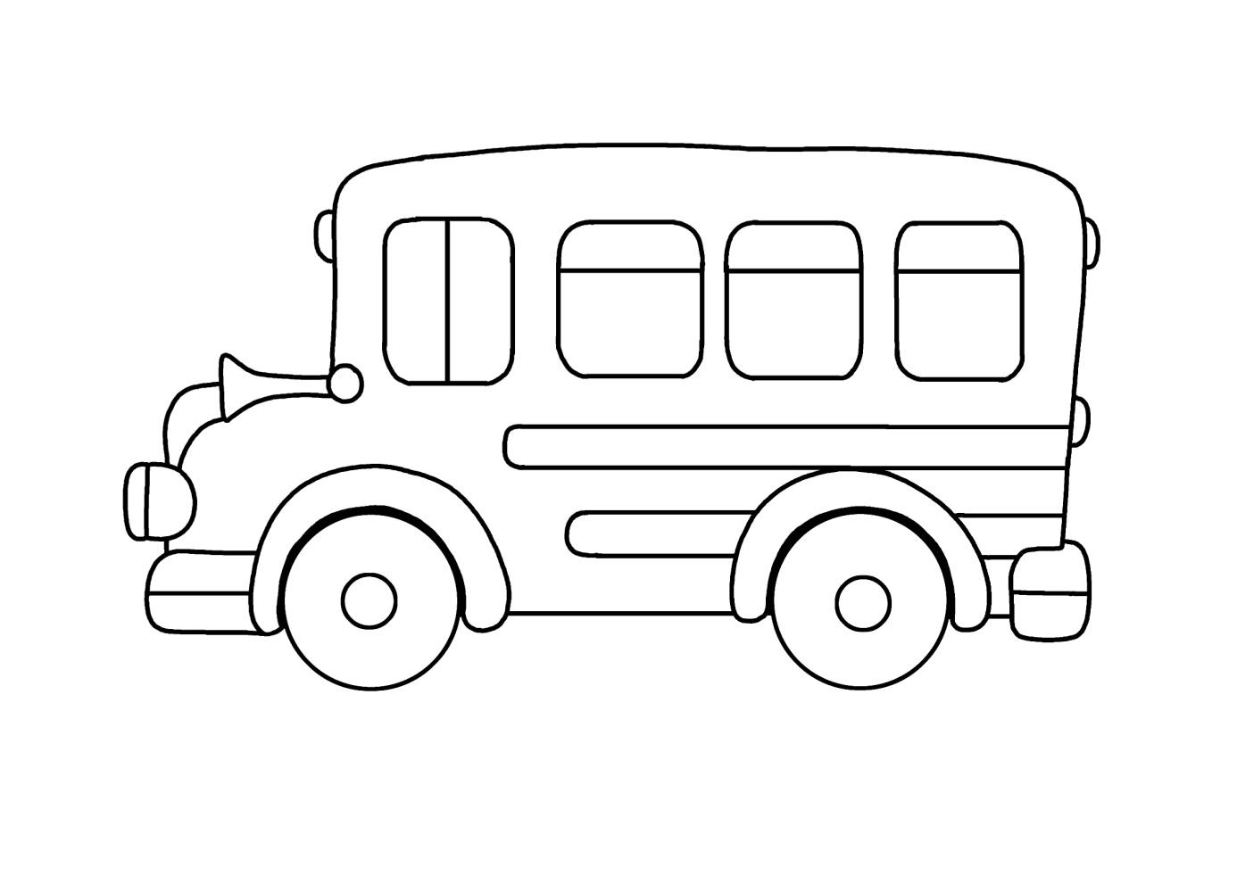 Kleurplaat Bus Peuter Parksidetraceapartments